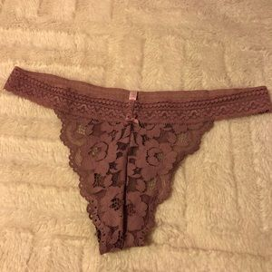 Brand New VS Lacey Thong